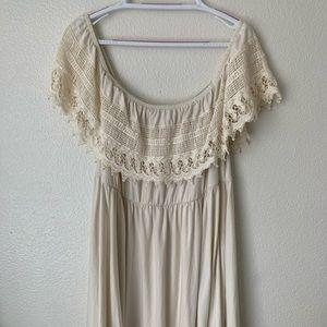 Torrid off the shoulder dress size 1